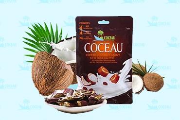 Kẹo dừa cà phê