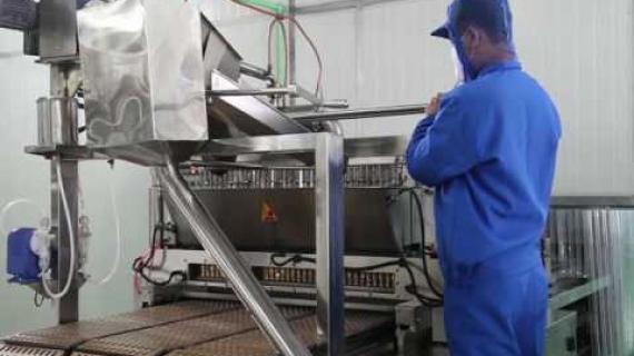 Quy trình sản xuất kẹo dừa avc